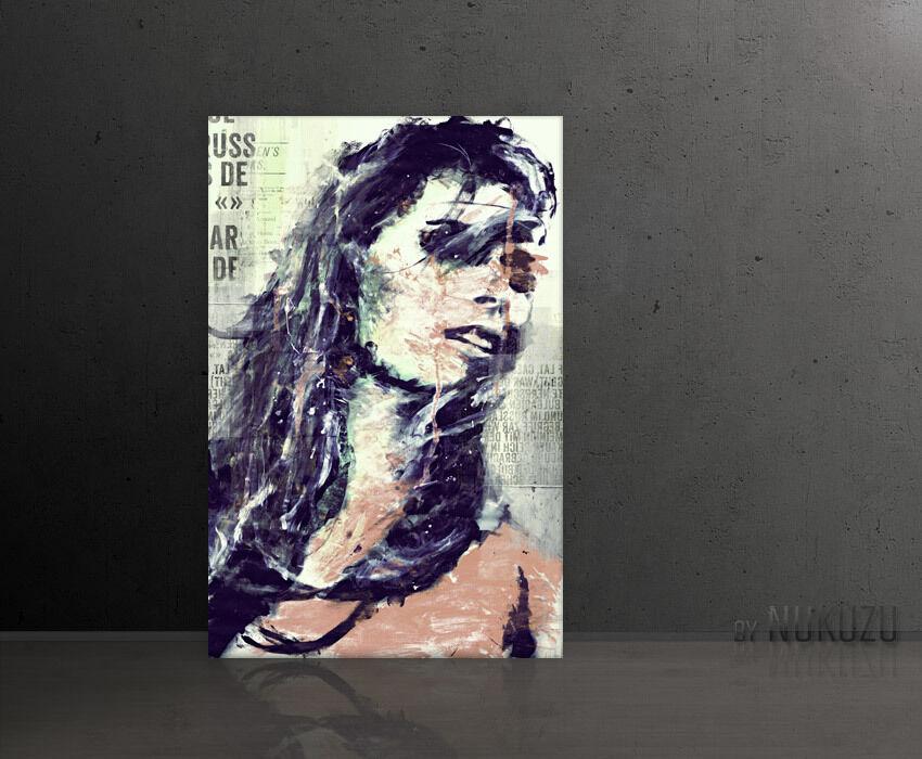 Design images-paul sinus kultbild xl 120x80cm modern style la fresque Femme Collage
