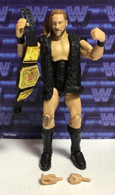 WWE MATTEL ELITE SERIE 75 Pete Dunn nuevo #75