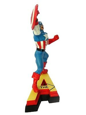 The Avengers Captain America Resin Figure Marvel Comics LETTER A