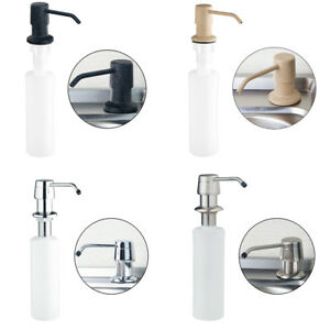 eub-Modern-Kitchen-Sink-Match-Stainless-Steel-amp-ABS-Plastic-Liquid-Soap-Dispenser
