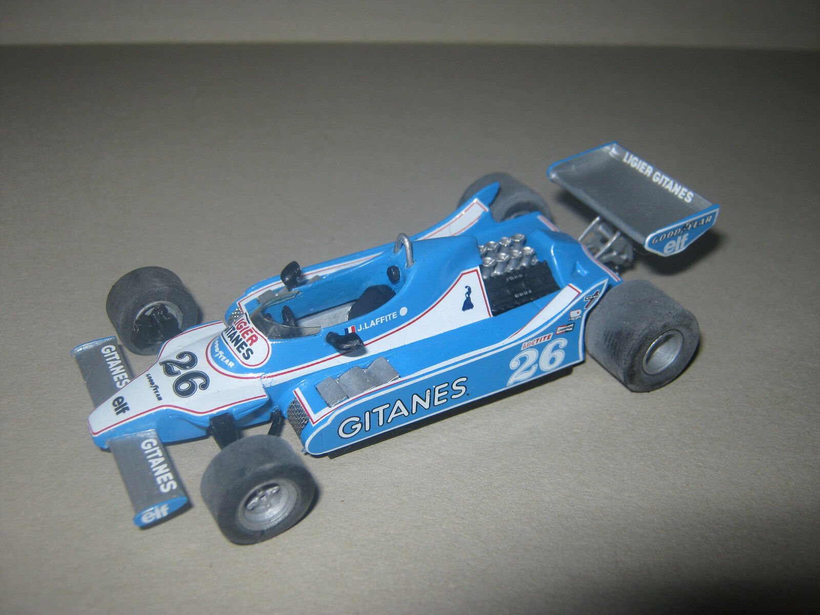 1 43 Ligier Ford js11 J. Lafitte 1979 Tenariv Handbuilt Car in Showcase