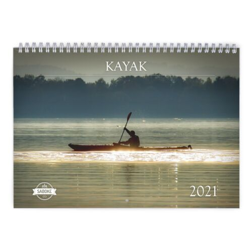 Kayak 2021 Wall Calendar ID:11232
