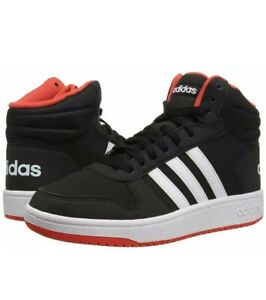 Cambio Bolsa Desacuerdo  Adidas Hoops Mid 2.0 K B75743 shoes black | eBay
