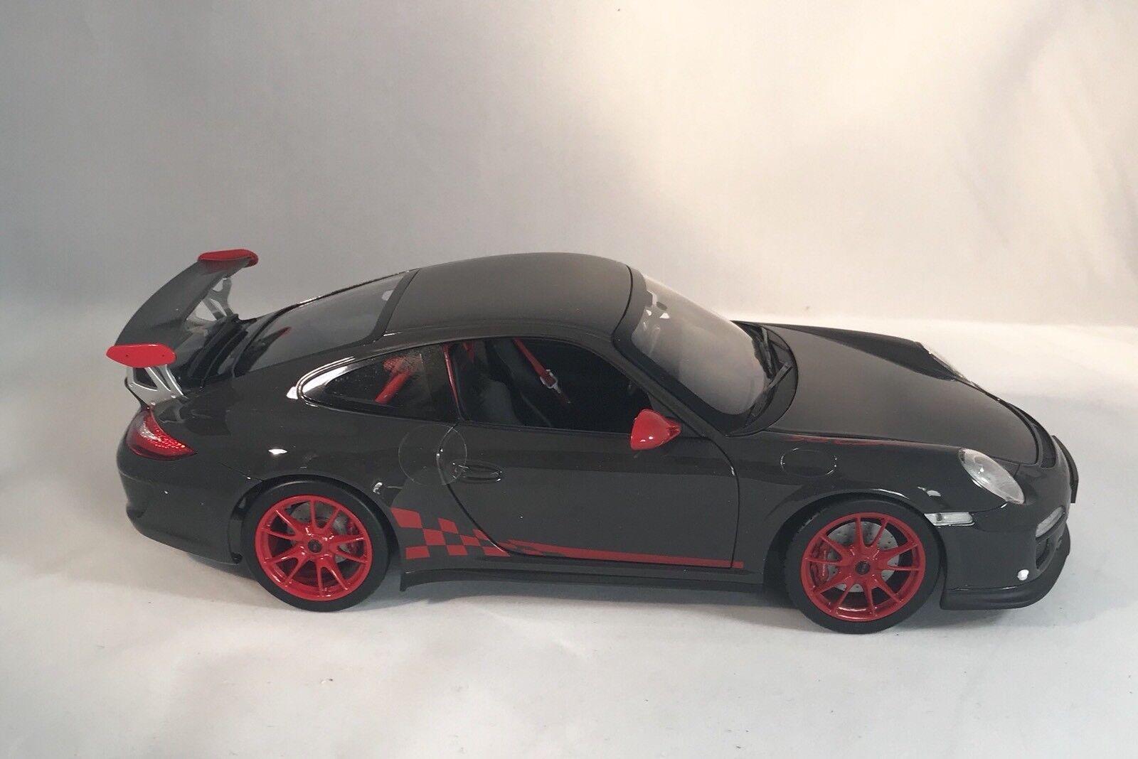 2010 Porsche 911 GT3 RS in Dark Grey By Norev 1:18
