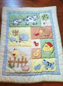 22 Piece Kidsline Barnyard Baby Nursery Crib Bedding Farm