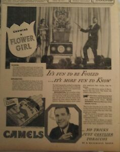 MAR 21, 1933 NEWSPAPER #J5608- GROWING A FLOWER GIRL- KNOW YOUR MAGIC TRICK