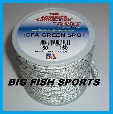 Woodstock Braided Dacron Igfa Fishing Line Green Spot 50lb 150yd Free Usa Ship 721539209053 Ebay