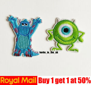 Disney Monsters Inc University Patch Badge Monsters University ( 5 styles )