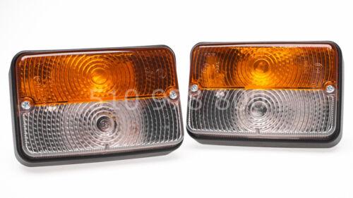 2 x Blink-Positionsleuchte Traktor Schlepper Oldtimer Positionslicht Blinklicht