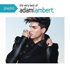 ADAM LAMBERT : PLAYLIST - THE VERY BEST OF (CD) Sealed