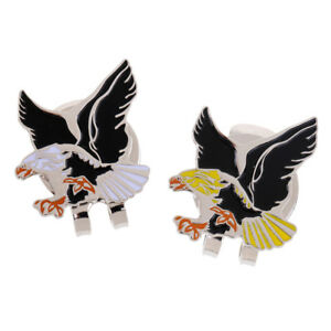 New-Cool-Eagle-Alloy-Golf-Ball-Marker-Magnetic-with-Hat-Clip-Golfer-Gift