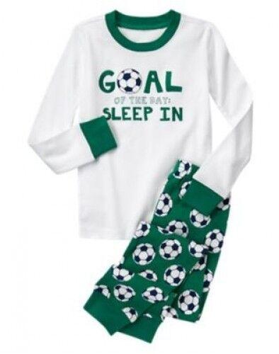 NWT Gymboree Boys Pajamas Long Sleeve Top and Pants Sizes 3 4 5 6 7 8 10 12 14
