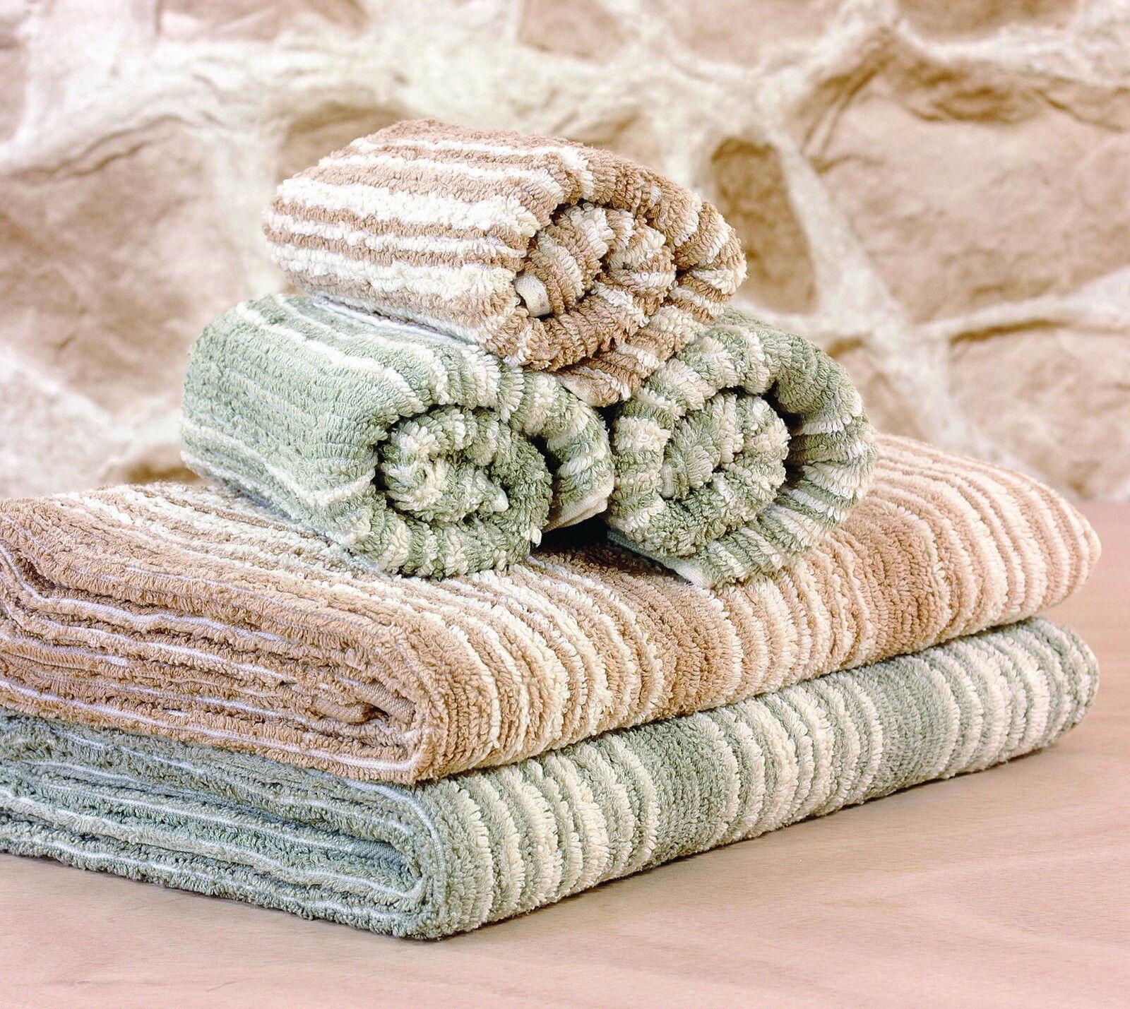Organic Natural Colour Cotton Beach Towel Luxury 800 Gram Bonus Gym Towel