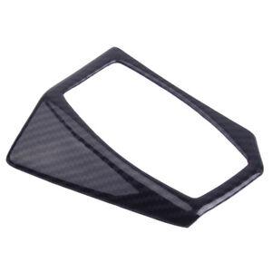 Carbonfaser Scheinwerfer Schalter Trimmen Rahmen Abdeckung für Ford Focus