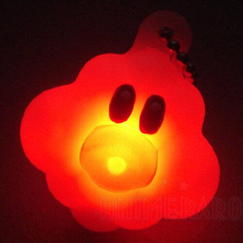 "Wii Light Up Vol.4 FOO CLOUD 1.5/"" Key Chain Figure Bandai New Super Mario Bros"