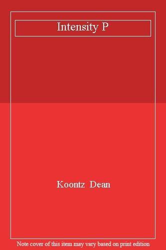 Intensity P,Koontz  Dean