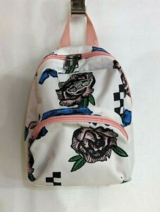 Vans Girls Got This White Floral Mini Backpack (VN0A3Z7WFS8) - NWT