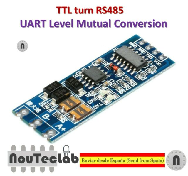 2pcs TTL Turn Rs485 485 to Serial UART Mutual Conversion Automatic Flow  Control