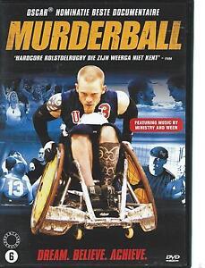 DVD-MURDERBALL-WHEELCHAIR-RUGBY-ENGLISH-FRANCAIS-NEDERLANDS-REGION-2-PAL
