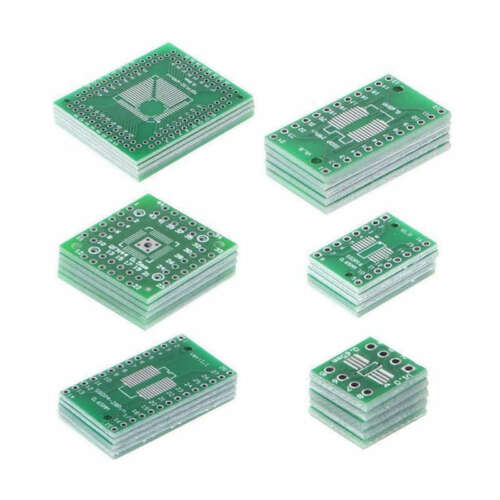 2X 30X Platinen Kit Smd zum Eintauchen Des Adapter Konverters Fqfp32-100 QfA3L6