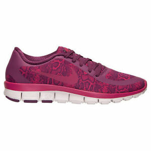 aa6adcc654375 Nike FREE 5.0 New Women s Training Running Pink Shoes 695168-501 ...