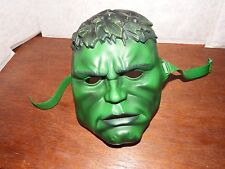 Marvel kids The Incredible Hulk face mask plastic fancy dress up one size 2003