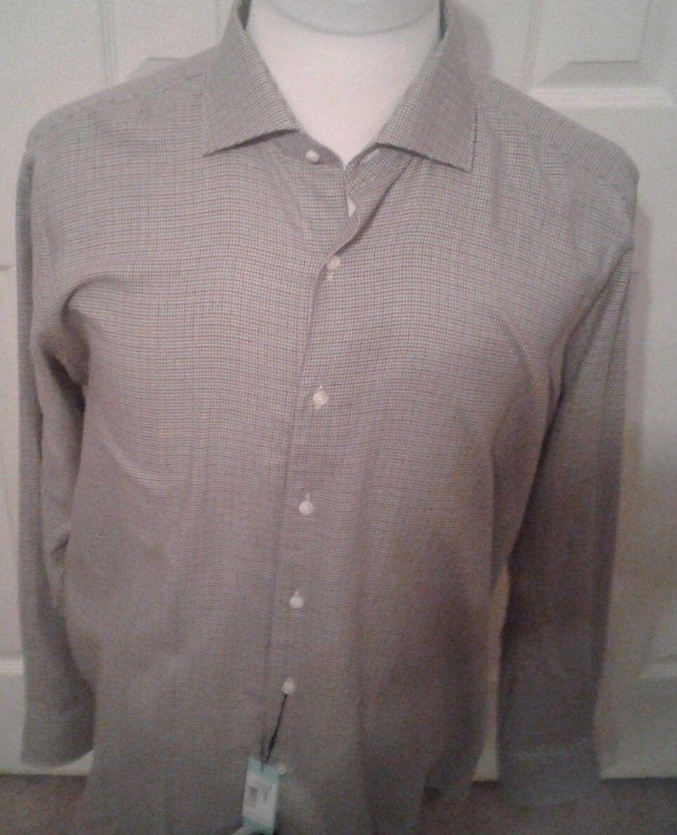 Peter Millar Collection cashmere blend shirt hand made in Turkey M