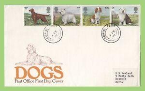 Graham-Brown-1979-perros-en-la-oficina-de-correos-de-primer-dia-cubierta-ladridos-Cds