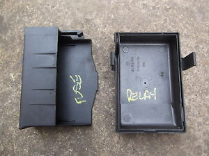 vauxhall astra g mk4 engine bay fuse box relay covers tops rh ebay co uk