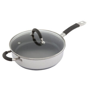 RSC-26cm-Non-Stick-INDUCTION-Safe-DEEP-Saute-PAN-Frying-S-Steel-with-GLASS-LID