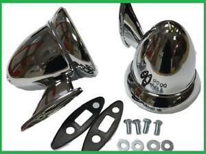 UNIVERSALE-Auto-Classica-Cromato-proiettile-Specchietti-retrovisori-MG-Triumph-Lotus-Ford-healey
