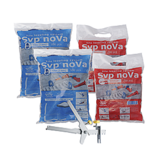 "Nivelliersystem Fliesen 1000 Stück  1mm Zuglaschen   /""SVP-noVa/"" TOP Preis!"