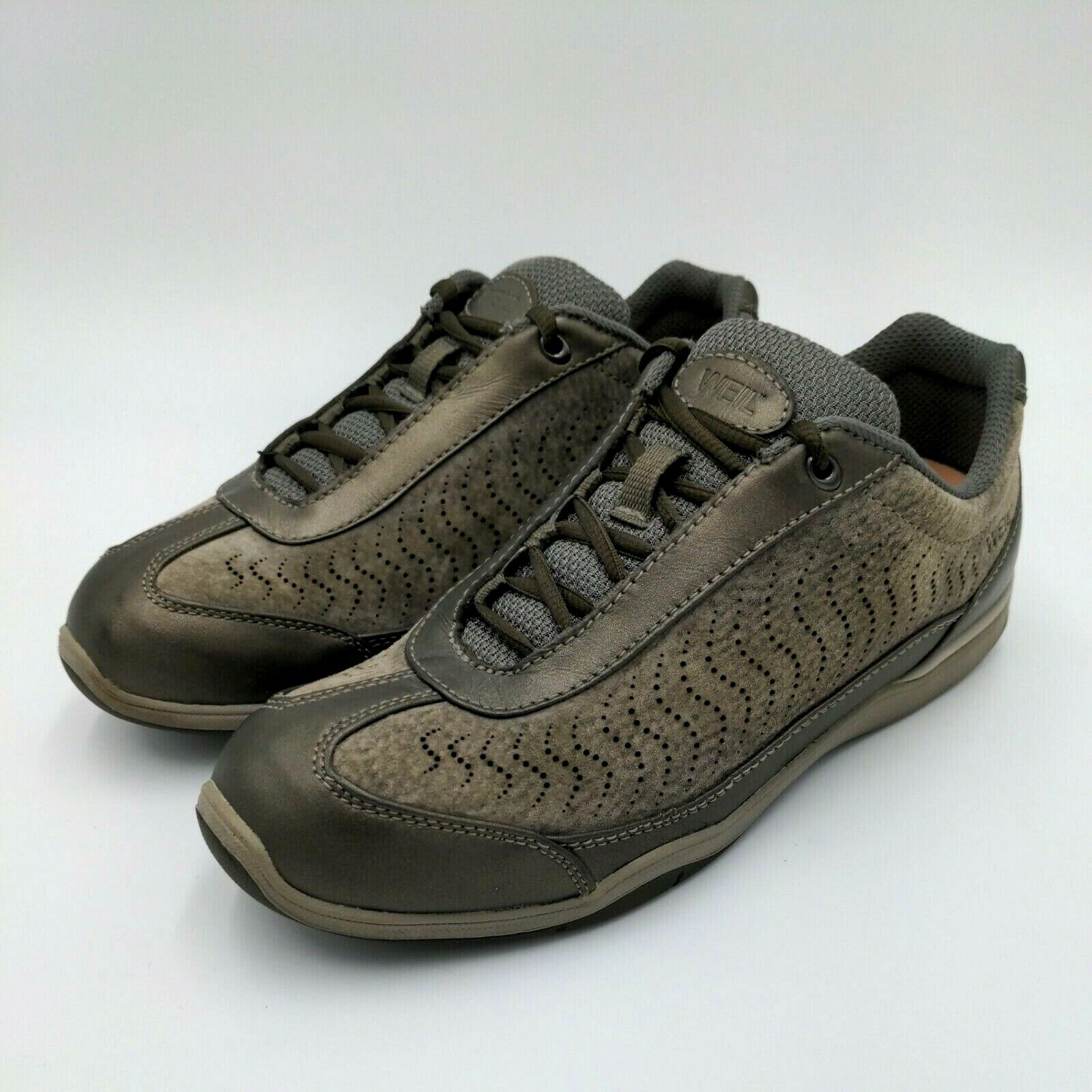 Dr. Andrew Weil Womens Balance II Leather Shoes Size 8