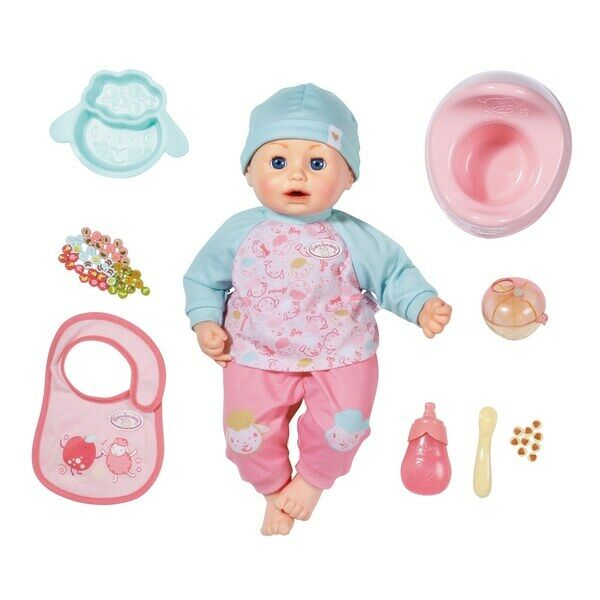 Zapf Baby Annabell Lunch Time 43cm Baby Doll Deluxe Set & Accessories Creation
