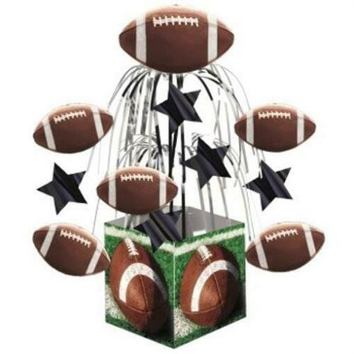 Football Mini Cascade Centerpiece Birthday Party Decorations