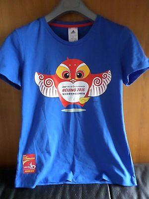 Acquista A Buon Mercato T-shirt Adidas Mascotte Beijing 2015 Per Farti Sentire A Tuo Agio Ed Energico