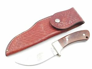 "Case Kiowa XX R703 SSP Fixed Blade Knife w/Leather Sheath 4 3/8"" Full Tang Blade"