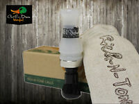 Rnt Rich-n-tone Alpha 2 Double Reed Mallard Hen Duck Call Pearl & Black Acrylic