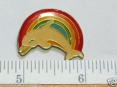 Pretty Wrasse Brightly Rainbow Coloured Marine Reef Fish Divers Brooch Pin Badge
