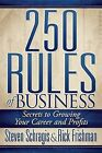 250 Rules of Business by Rick Frishman, Steven Schragis (Paperback, 2013)