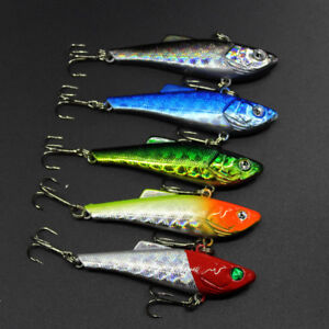 Vibe-Lures-Sniper-5-Pack-Bream-Flathead-Bonito-Bass-Trout-Vibe-Lure-Fishing-New