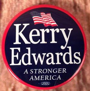 2004-John-Kerry-For-President-Political-Pinback-Campaign-Button-Memorabilia