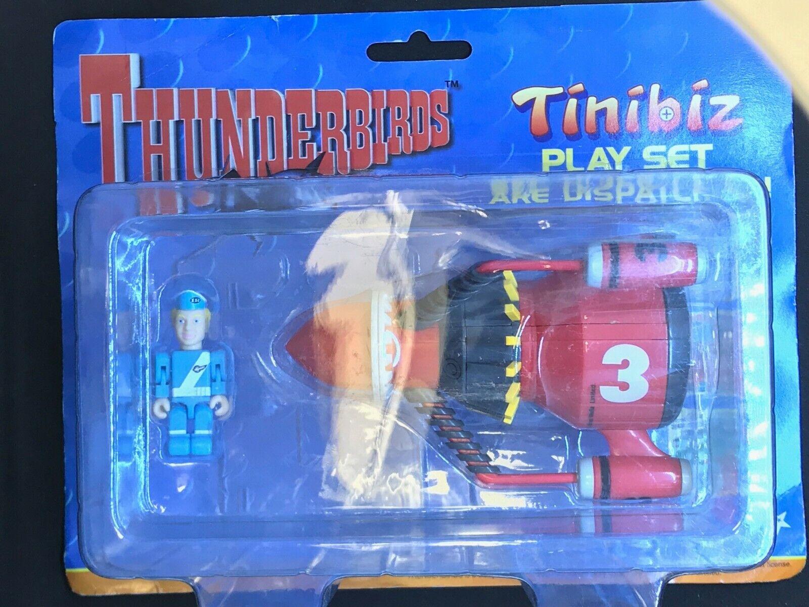 THUNDERBIRD TINIBIZ TINIBIZ TINIBIZ PLAYSET N° 1 68104b