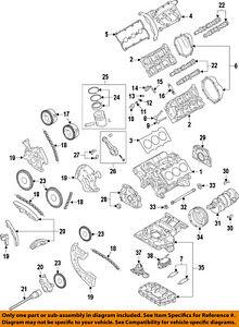 audi oem 10 16 s5 engine crankshaft crank main bearing