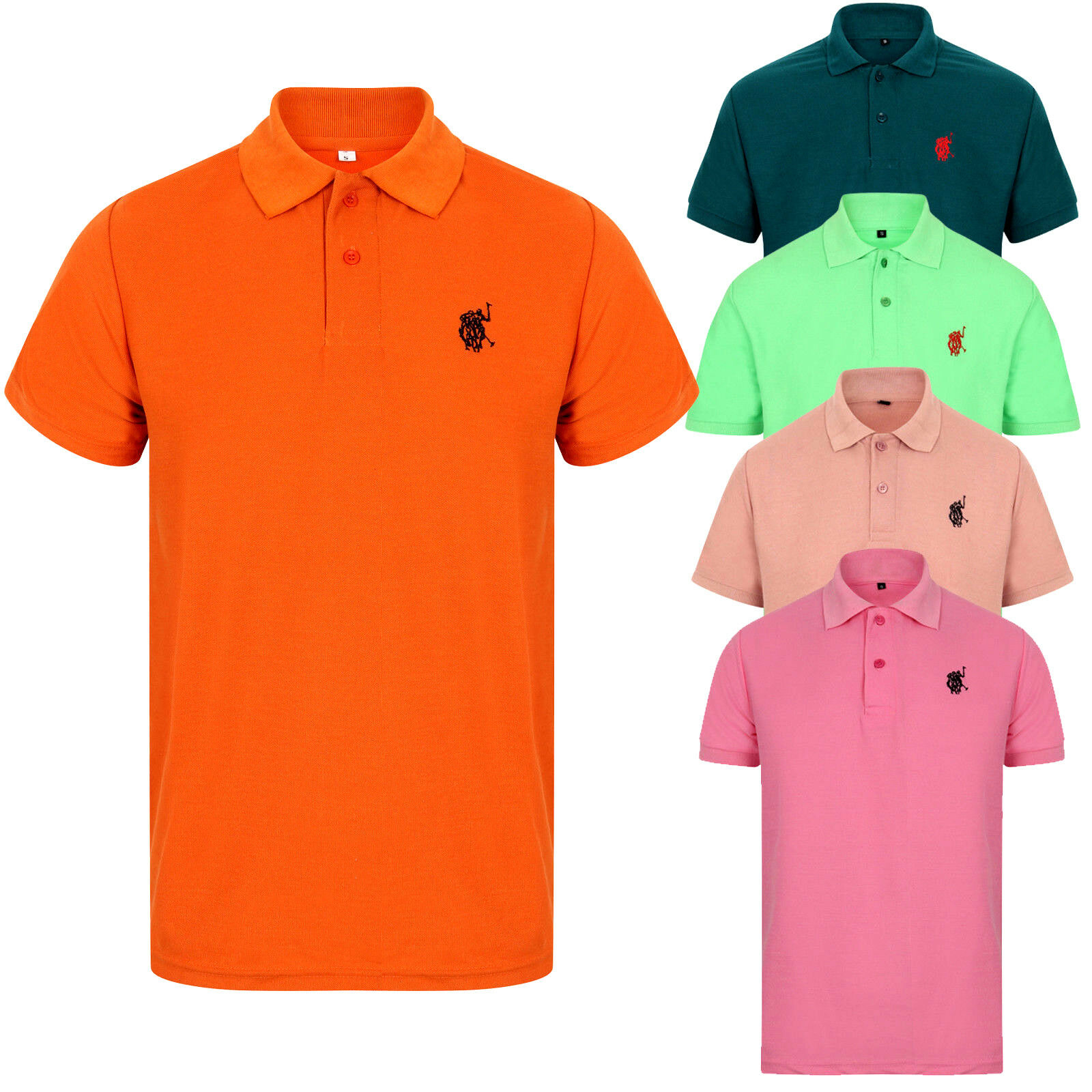 Smart Quality Mens Polo Shirt Size X Large