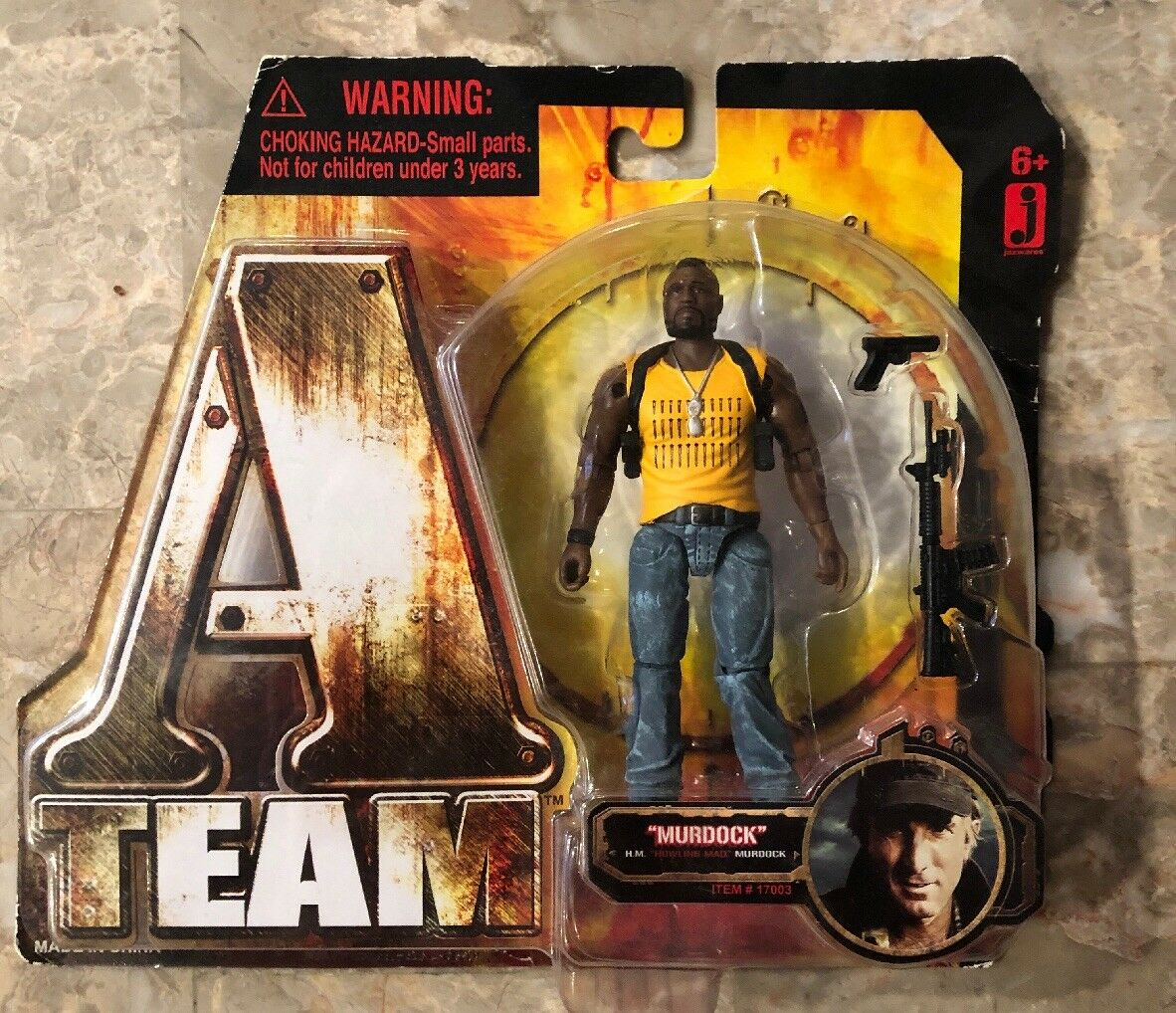 2010 VINTAGE A-TEAM B.A. Baracus Sgt. B  4  Figure  Jazwares movie Misprint RARE