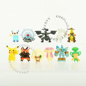 11-Pcs-Pokemon-Kyurem-Zekrom-Emboar-Whimsicott-Figures-Cake-Topper-Toys-Gifts