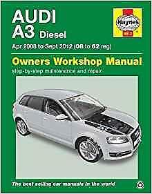 haynes audi a3 8p 08 12 facelift tdi owners service workshop rh ebay co uk audi a3 diesel manual transmission 1999 Audi A3 Diesel