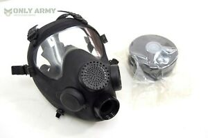 AF2-New-NATO-Black-Gas-Mask-New-Filter-French-Army-Special-Forces-SAS-COS-Issue