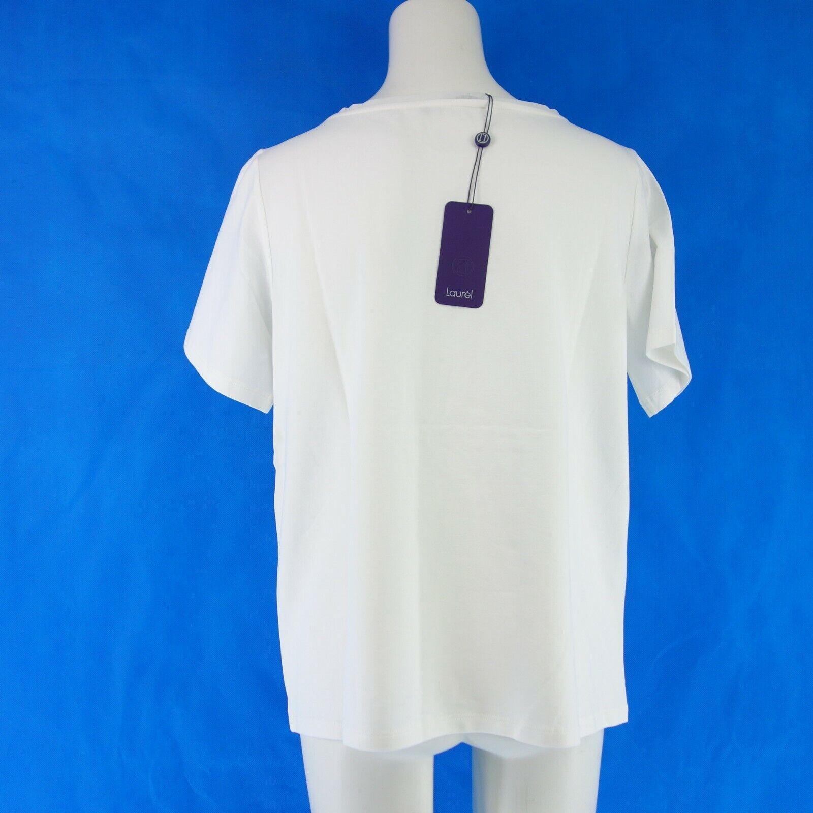 LAURÉL Laurel Damen Shirt 41264 41264 41264 Gr 42 44 Weiß Print Baumwolle Elasthan NP 99 NEU | Spielzeugwelt, spielen Sie Ihre eigene Welt  | Große Klassifizierung  fd06e7